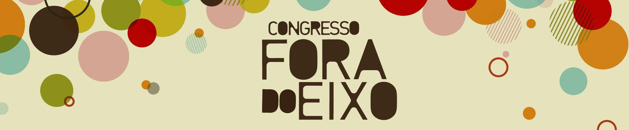 Logo Congresso Fora do Eixo